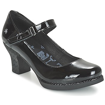 Shoes Women Heels Art HARLEM Black