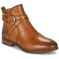 Shoes Women Mid boots Pikolinos ROYAL W4D Cognac