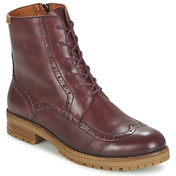 Shoes Women Mid boots Pikolinos SANTANDER W4J Brown