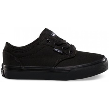 Shoes Children Skate shoes Vans Y Atwood Canvas Black Black