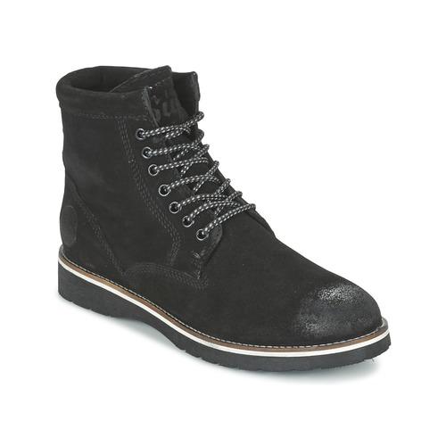 Shoes Men Mid boots Superdry STIRLING BOOT Black