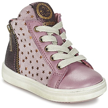 Shoes Girl Hi top trainers Acebo's MARLIE Pink