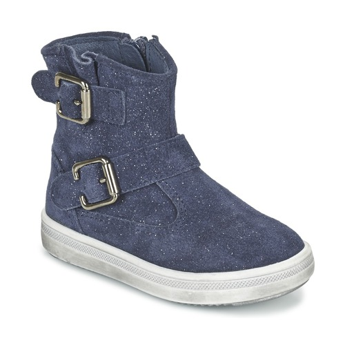 Shoes Girl Mid boots Acebo's MOULLY Blue