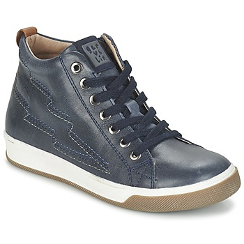 Shoes Boy Hi top trainers Garvalin VALIRA MARINE