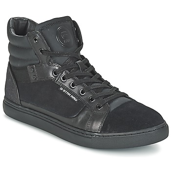 Shoes Men Hi top trainers G-Star Raw NEW AUGUR Black