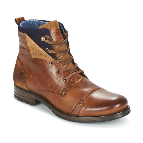 Shoes Men Mid boots Redskins YEDES Cognac