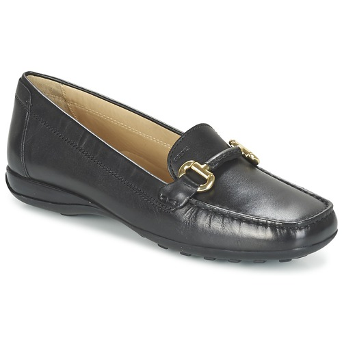 Shoes Women Loafers Geox EURO D Black
