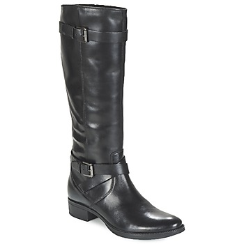 Shoes Women High boots Geox MENDI ST D Black