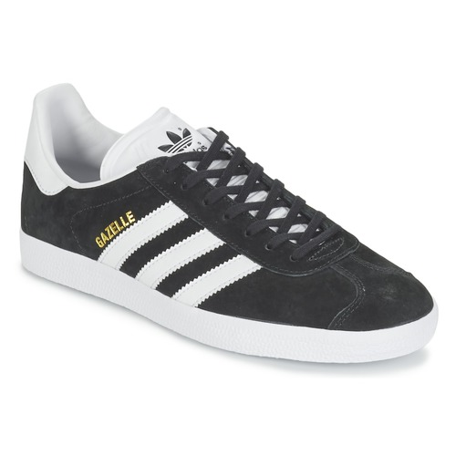 212bd5bd88cf adidas Originals GAZELLE Black - Free delivery | Spartoo UK ...
