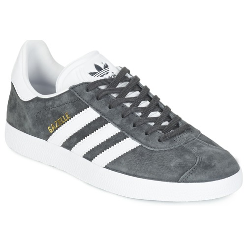 ba57694ba4ca adidas Originals GAZELLE Grey / Dark - Free delivery | Spartoo UK ...