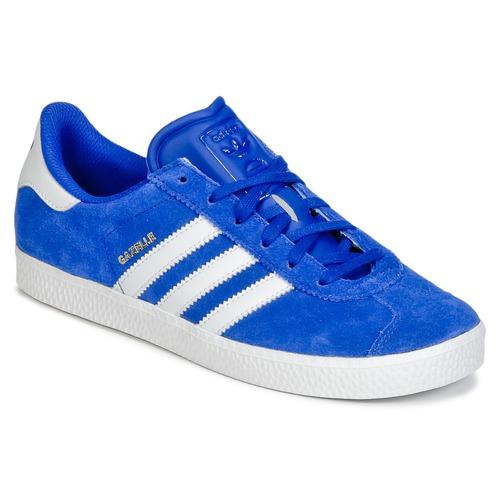 Shoes Boy Low top trainers adidas Originals GAZELLE 2 J Blue