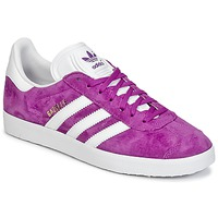 Shoes Women Low top trainers adidas Originals GAZELLE Purple