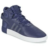 Shoes Men Hi top trainers adidas Originals TUBULAR INVADER Marine