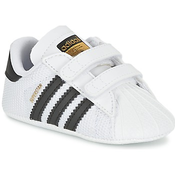 adidas  SUPERSTAR CRIB  boyss Childrens Shoes (Trainers) in white