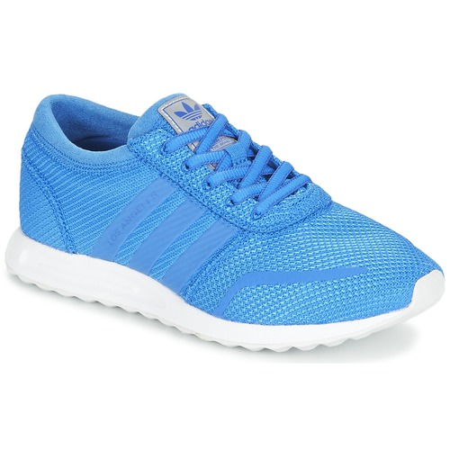 Shoes Boy Low top trainers adidas Originals LOS ANGELES J Blue