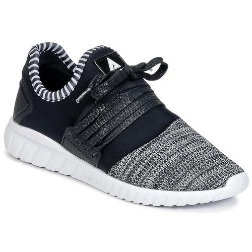 Shoes Low top trainers Asfvlt AREA Black / Grey
