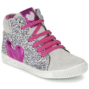 Shoes Girl Hi top trainers Agatha Ruiz de la Prada BUSOULI Purple