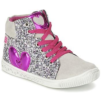 Shoes Girl Hi top trainers Agatha Ruiz de la Prada BUSOULI Purple