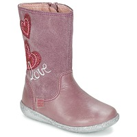Shoes Girl High boots Agatha Ruiz de la Prada BIGI Pink