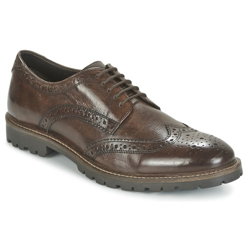 Shoes Men Derby Shoes Base London TRENCH Brown