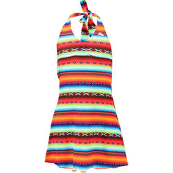 Clothing Girl Short Dresses Lolita Angel Multicolor Children Beach Dress Acapulco Psycho MULTICOLOUR