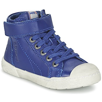 Shoes Boy Hi top trainers Mod'8 KANDINSK Blue