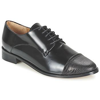 Shoes Women Derby Shoes Emma Go SHERLOCK Black
