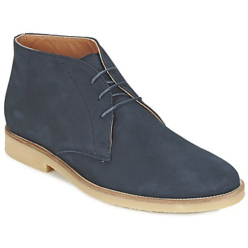 Shoes Men Mid boots Hackett CHUKKA BOOT Marine
