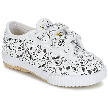Shoes Children Low top trainers Feiyue FE LO SNOOPY EC White