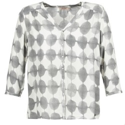 Clothing Women Shirts DDP GOSA Taupe / Ecru