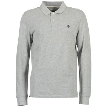 Clothing Men long-sleeved polo shirts Timberland MILLERS RIVER Grey