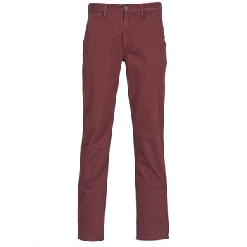 Timberland  SQUAM LAKE CHINO  mens Trousers in red