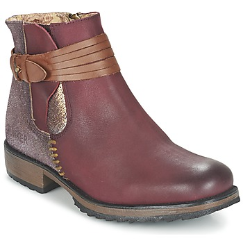 Shoes Women Mid boots Bunker TAYLOR Bordeaux