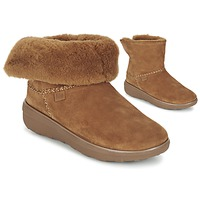 Shoes Women Mid boots FitFlop SUPERCUSH MUKLOAFF SHORTY Hazelnut