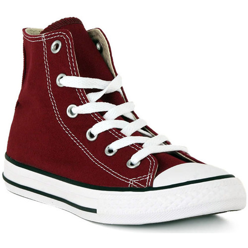 Shoes Men Low top trainers Converse ALL STAR HI MAROON Marrone