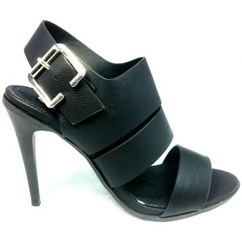 Shoes Women Sandals Cassis Côte d'Azur Sandales Talons Hauts Beltaine Noir Black