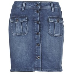Clothing Women Skirts Pepe jeans SCARLETT Blue