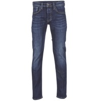 Clothing Men straight jeans Pepe jeans CASH Z45 / Blue / Dark