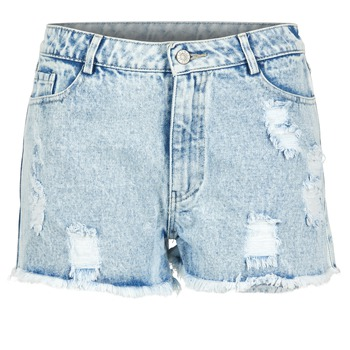 Clothing Women Shorts / Bermudas Yurban EVANUXE Blue / Clear