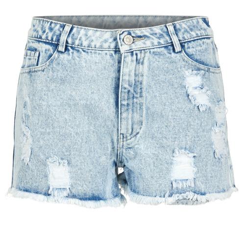Clothing Women Shorts / Bermudas Yurban EVANUXE Blue / Clear