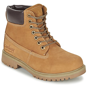 Shoes Women Mid boots Coolway BASIL HONEY