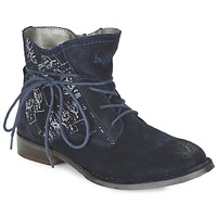 Shoes Women Mid boots Bugatti LEEALE Marine