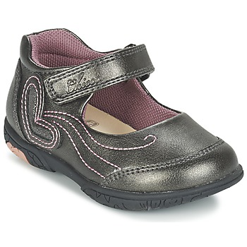 Shoes Girl Flat shoes Chicco CINDRA Grey