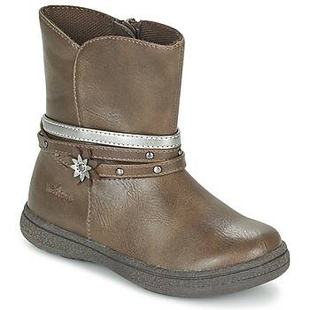 Shoes Girl Mid boots Chicco CLAUDY Brown