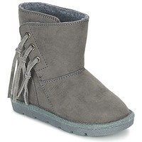 Shoes Girl Mid boots Chicco CHICA Grey
