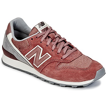 Shoes Women Low top trainers New Balance WR996 Red