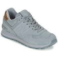 Shoes Women Low top trainers New Balance WL574 Grey