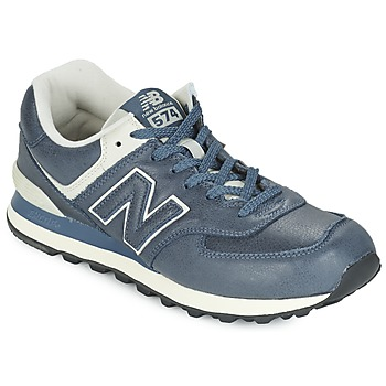 Shoes Low top trainers New Balance ML574 Blue / Grey