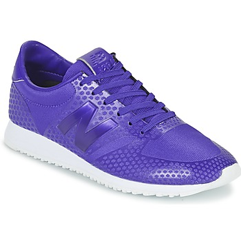Shoes Women Low top trainers New Balance WL420 Purple
