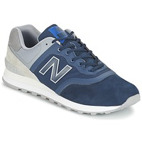 Shoes Low top trainers New Balance MTL574 Blue / Grey